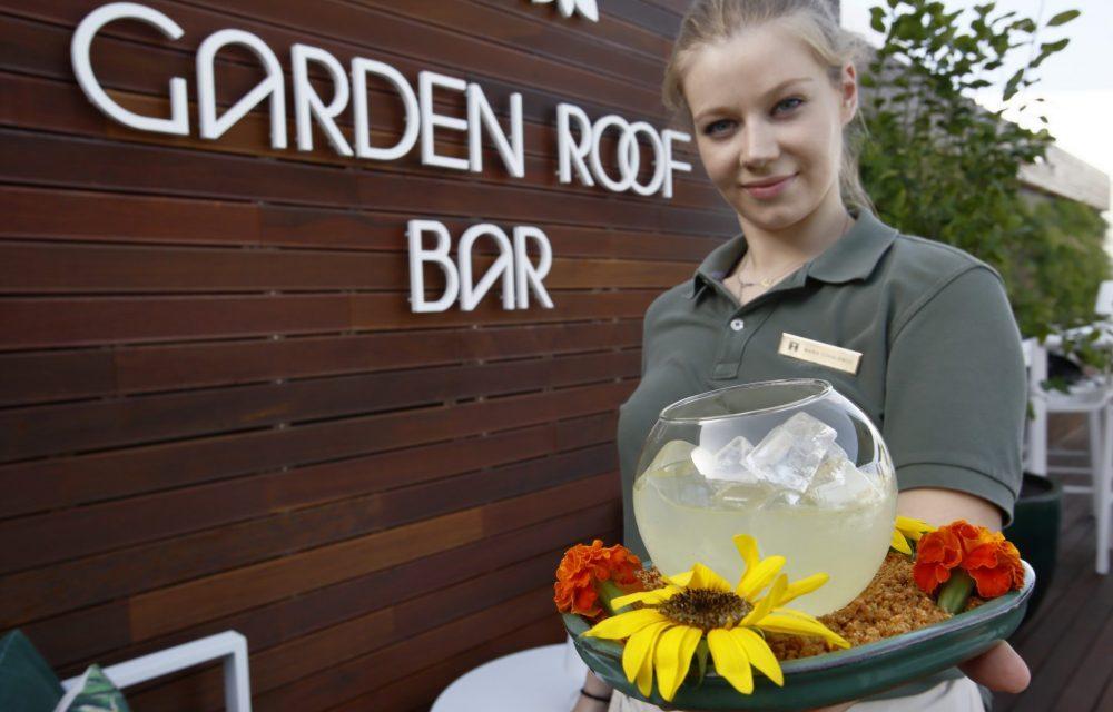 Notícia Garden Roof Bar, Altis